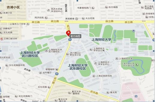 上海地铁英文地图